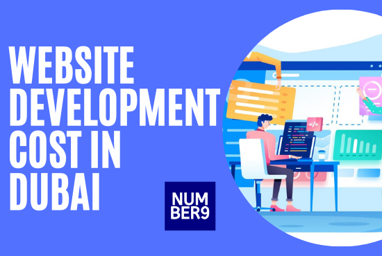 Website development cost in Dubai - Number9