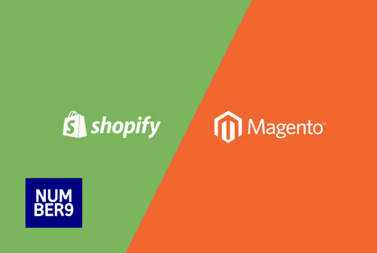 Shopify vs Magento - Number9